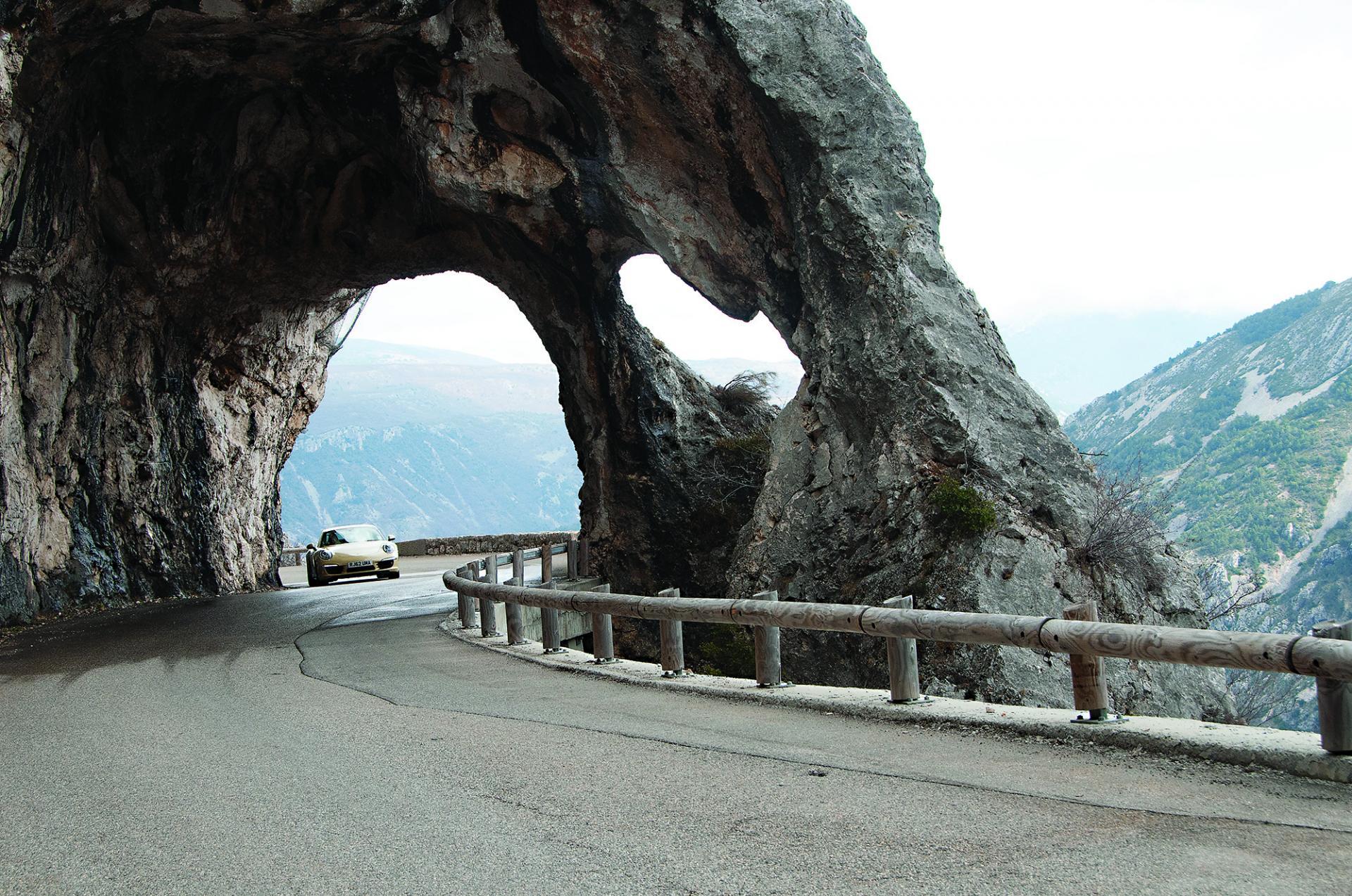 Belles routes et sinueuses...